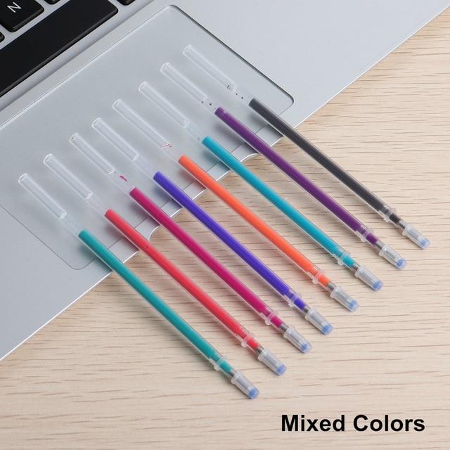 8PCS GENKKY Erasable Pen 8 Colors Ink Gel Pen of Styles Rainbow New Best selling Creative