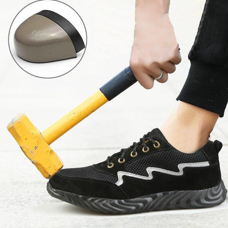 Safety, Anti-slip, Breathable, Man, Steel, Shoe