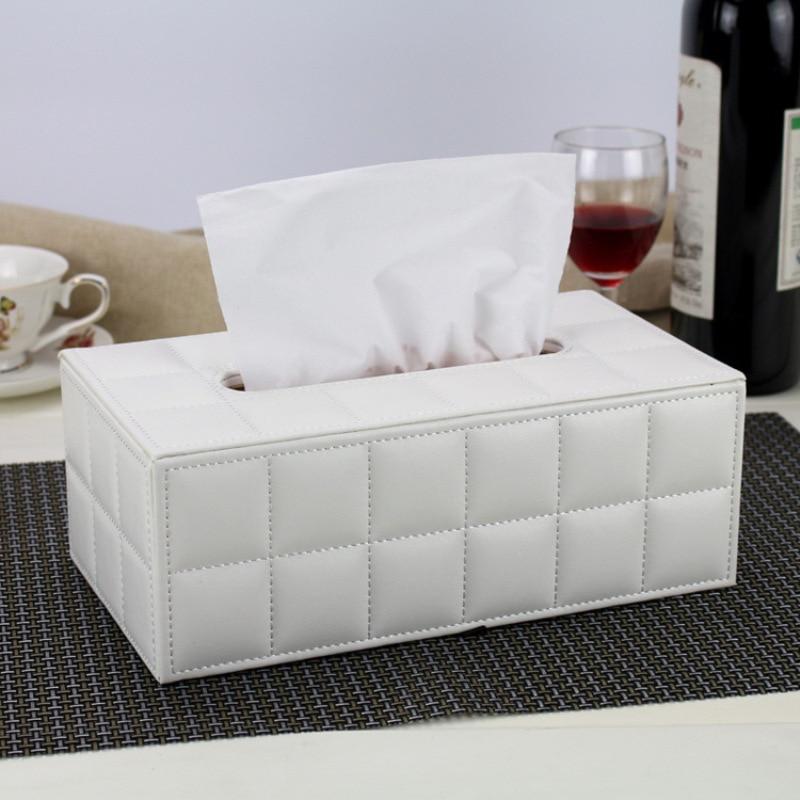 Стильный ящик для салфеток прямоугольник бумажный держатель