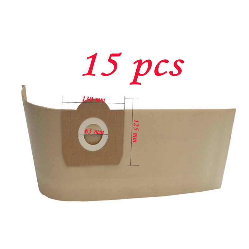 Filtro de bolsas de polvo para Karcher MV3 WD3 WD3200 WD3300 A2204 A2656 aspiradora bolsas de papel para Rowenta RB88 RU100 RU101