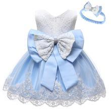 Baby Dress 1 Years Baby Girl Birthday Dresses Summer Lace Ba