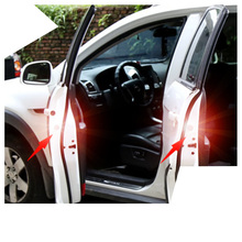 Lsrtw2017 LED Car Door Edge Warning Light Reflective for Audi Interior Accessories Sticker