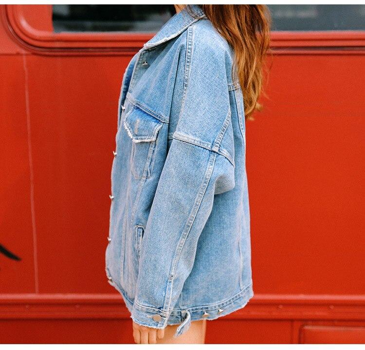 H6fdf4dc2644f4dd4b155f966b852d4aeP LUZUZI 2019 New Warm Winter Bomber Women Winter Autumn Hooded Girls Coat Jeans Denim Jackets Basic Ladies Top Windbreaker Female