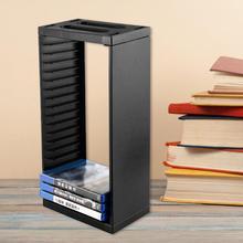 Universal Game Disc Storage Showcase Tower CD Game Holder Shelf Rack Host Disc Storage Box Bracket for PS4 Slim Pro