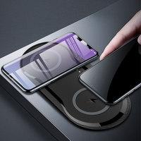 20W Rápido Carregador Sem Fio Para iPhone 11 Xs Max Xr X 8 plus 10W Dupla Qi de Carregamento Sem Fio pad Para Samsung Xiaomi Huawei Google|Carregadores sem Fio| |  -