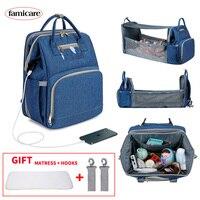 Многофункциональная сумка-кроватка для мамы