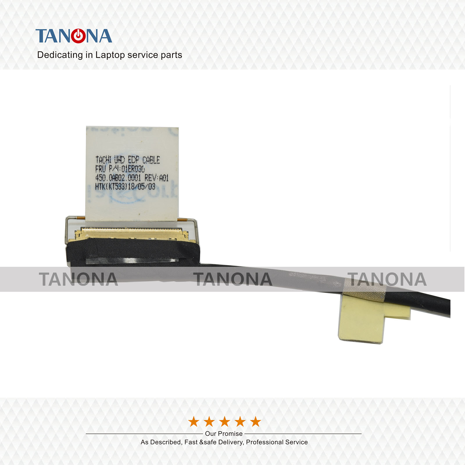 New 01ER030 for Lenovo Thinkpad T570 P51S T580 P52S LCD UHD EDP Video Cable