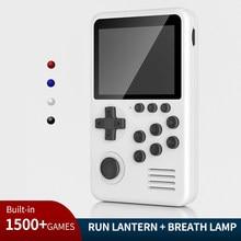 Neue Retro M3S Mini/TV Handheld Spielkonsole Player 16-Bit 3,0-Zoll Portable Video Spiel Konsole für Kinder Geschenk Gebaut-in 1500 Spiele