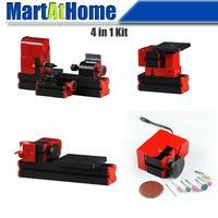 Z6000 DIY 4 in 1 Mini Maschinen Tool Kit für Hobby Amateur Modell Maker-in Drehbank aus Werkzeug bei