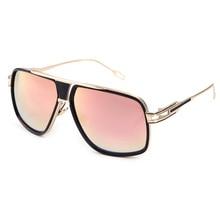 Dita Von Teese Sun Glasses Mirror Metal Trend Street Snap Retro Sunglas