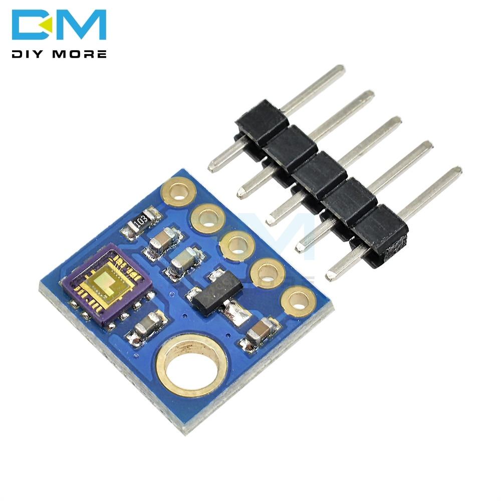 Board para Arduino Módulo de Sensor de Luz Sensor Breakout Uvb Analógica Saída Kit Diy Ray uv Ml8511 Gy8511