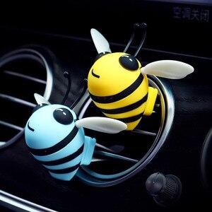 Image 2 - Yaratıcı arı hava spreyi araba havalandırma çıkışı klip iç dekorasyon lezzet otomatik parfüm difüzör araba kokuları deodorant