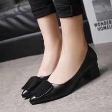 Туфли лодочки женские на квадратном каблуке Лолита стиль панк