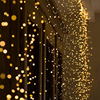 2M 3M 4M 5M Copper Wire LED String lights Holiday lighting Fairy Garland For Christmas Trees Wedding Party Decor Merry Christmas