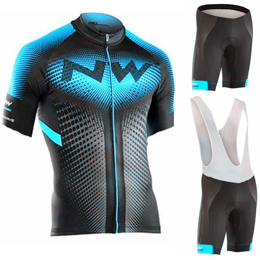 <font><b>Northwave</b></font> <font><b>2019</b></font> <font><b>NW</b></font> Cycling Jersey Set Breathable MTB Bicycle Cycling Clothing Mountain Bike Wear Clothes Maillot Ropa Ciclismo image