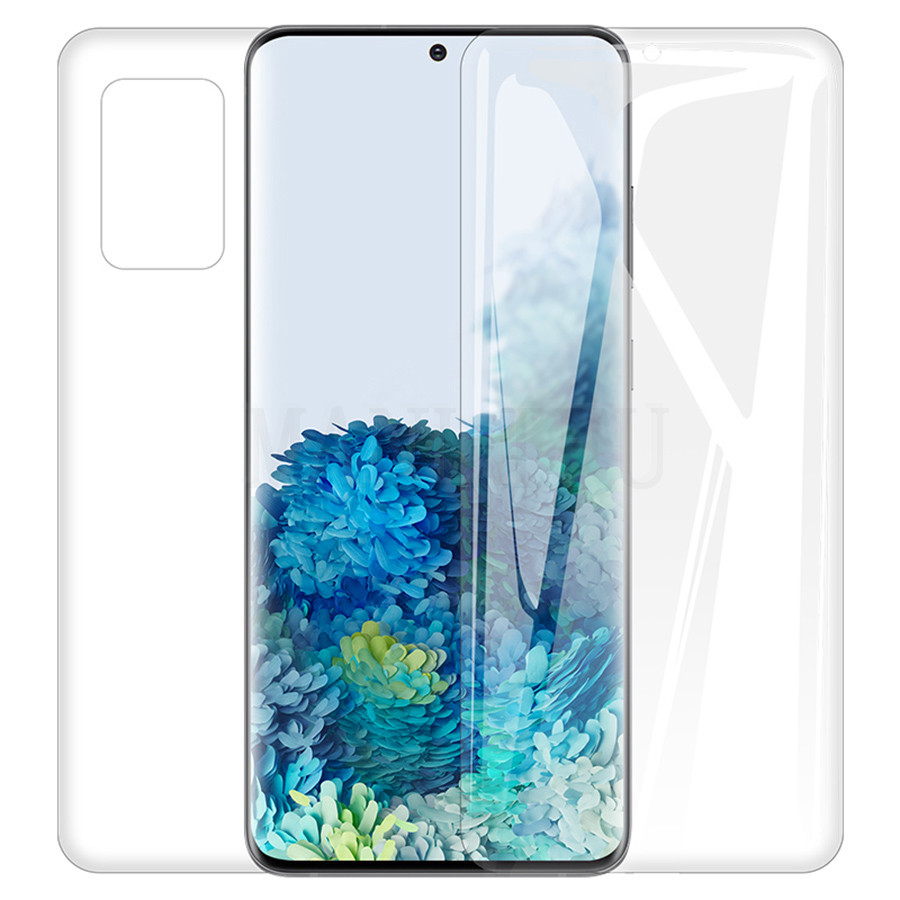 21D Front+Back Screen Protector Hydrogel Film For Samsung Galaxy S20 Ultra 5G A9 A7 A51 A71 S20+ S20 S20 Ultra Film Not Glass