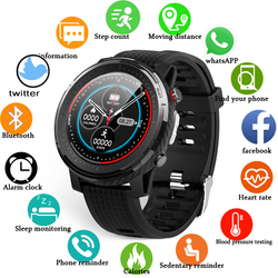 LIGE 2021 New PPG+ECG Smart watches men IP68 Waterproof sport fitness watch Heart rate monitor Activity tracker for Xiaomi phone