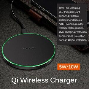 Image 2 - 10 ワット高速ワイヤレス充電器 Iphone XR XS 最大 X11 プロチーワイヤレス充電レシーバー iPhone 6 7 プラスサムスン華為タイプ C