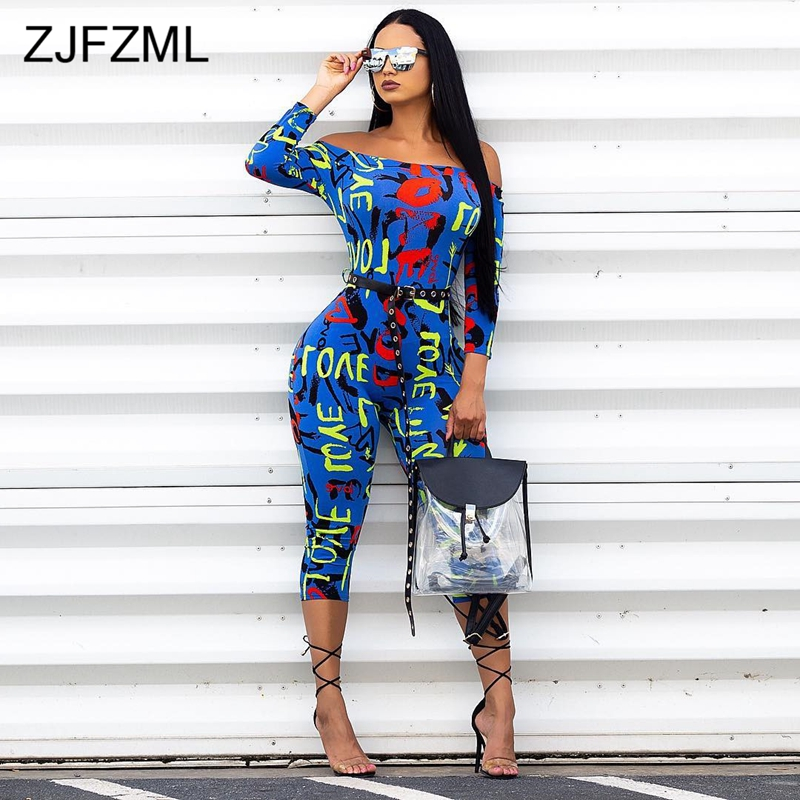 V-A-O-L Letter Printed Romper Short Sleeve Jumpsuit Clothes Outfits