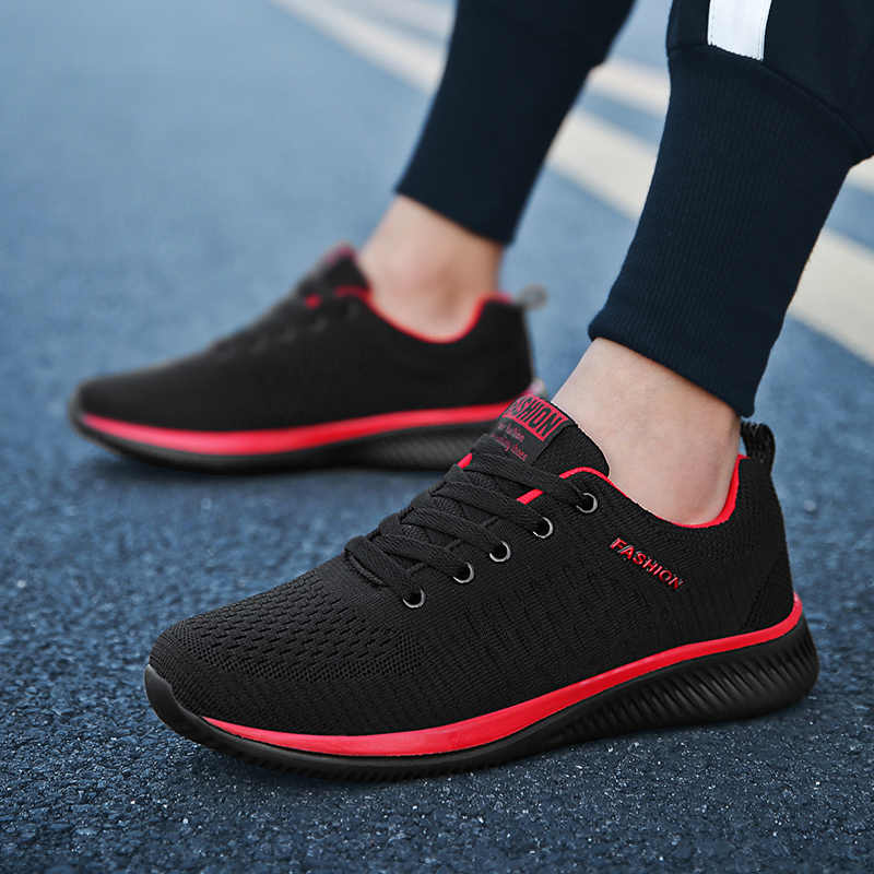 WIENJEE 2020 ตาข่ายรองเท้าผู้ชายรองเท้าลำลองฤดูร้อน Breathable รองเท้าผ้าใบน้ำหนักเบารองเท้าชายรองเท้ากีฬา
