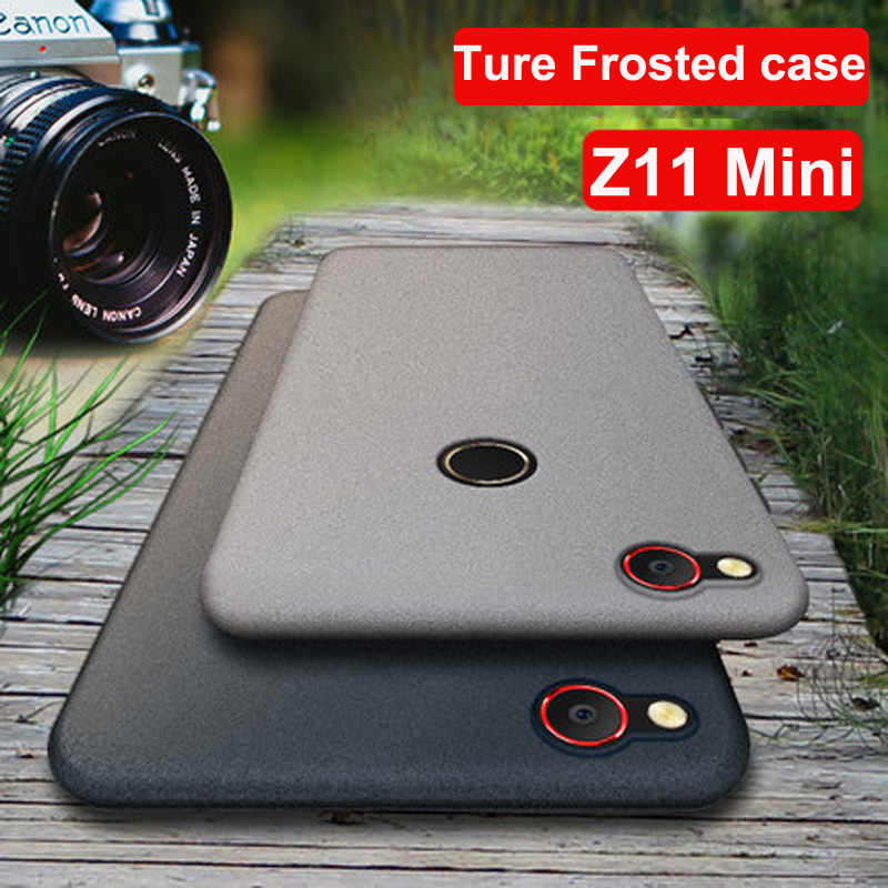Case For ZTE Nubia Z11 mini NX529J Slim Frosted Scrub Sandstone Soft Matte TPU Case For Nubia Z11mini Z 11 mini Shockproof Cover