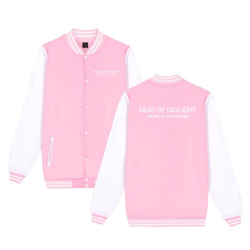 Unisex Fashion Baseball Jacket Dead By Daylight Baseball Uniform  Harajuku Sportswear Boys Girls Lovely Cotton Jackets Clothes 15