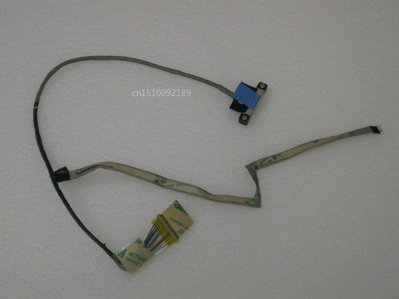 Original For Dell Alienware M17x R4 3D 40Pin 120Hz LCD Screen Video Cable 2JD3N 02JD3N DC02C002S00 Free Shipping