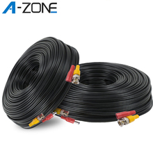 А-зона 30м камера видеонаблюдения DVR рекордер системы питания постоянного тока видеонаблюдения BNC кабель видео кабель набор