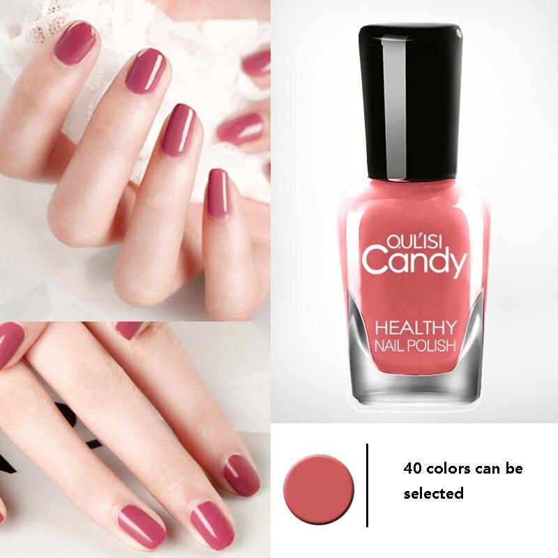 LANBENA 40 цветов Быстросохнущий лак для ногтей долговечный нетоксичный можно очистить для макияжа красота дизайн ногтей костюм DIY 8 мл оптовая ...
