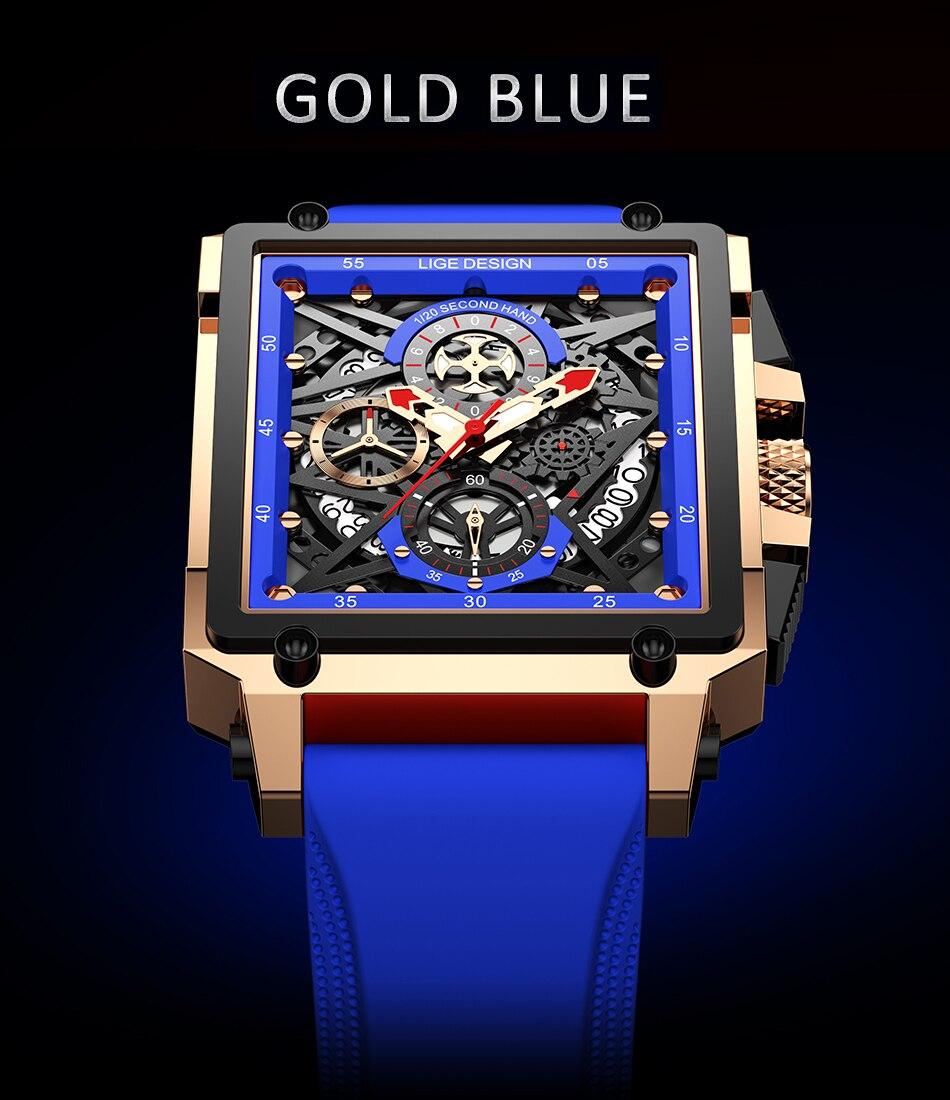 GEARPUNK quartz wristwatch