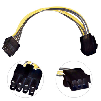 atx 24pin to 2 port 6pin adapter cable for hp z220 z230 sff server workstation motherboard psu power supply converter cord 30cm Xiwai 10pcs/lot  8 Pin to 6Pin EPS 12V ATX Motherboard Power Supply Adapter Converter Cable 10cm