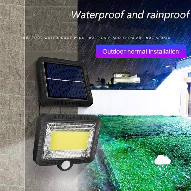 Waterproof Motion Sensor LED Solar Lamp.
