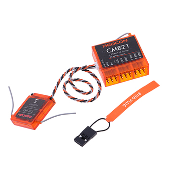 DSMX DSM2 2.4ghz zdalny odbiornik satelitarny CM821(AR8000) dla JR12X, 11X, X9503, X9303 ,DX10t, DX8, DX7s, DX7se, DX6i, DX5e