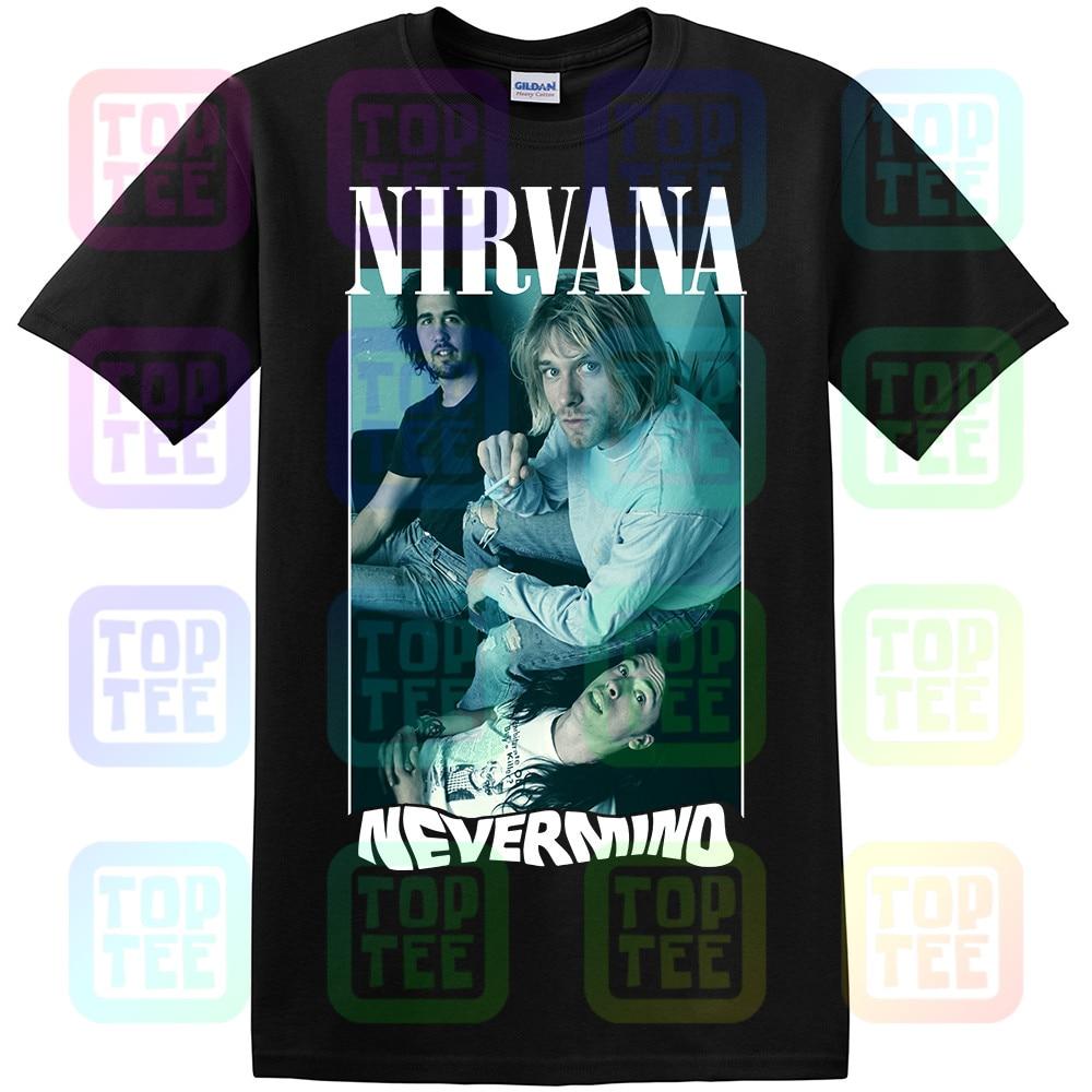 VINTAGE RARE 90'S NIRVANA NEVERMIND TOUR T Shirt SIZE S-2XL REPRINT