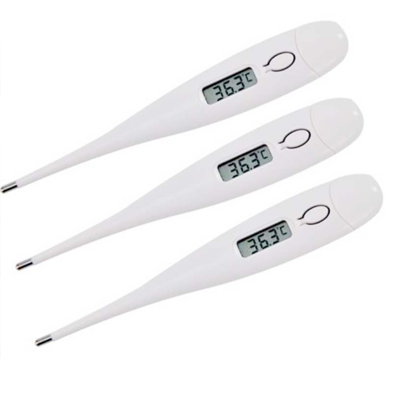 1/3pc Infant Portable Smart Thermometer Baby Adult Smart Digital Thermometer Fever Temperature Measurement Medical Digital LCD