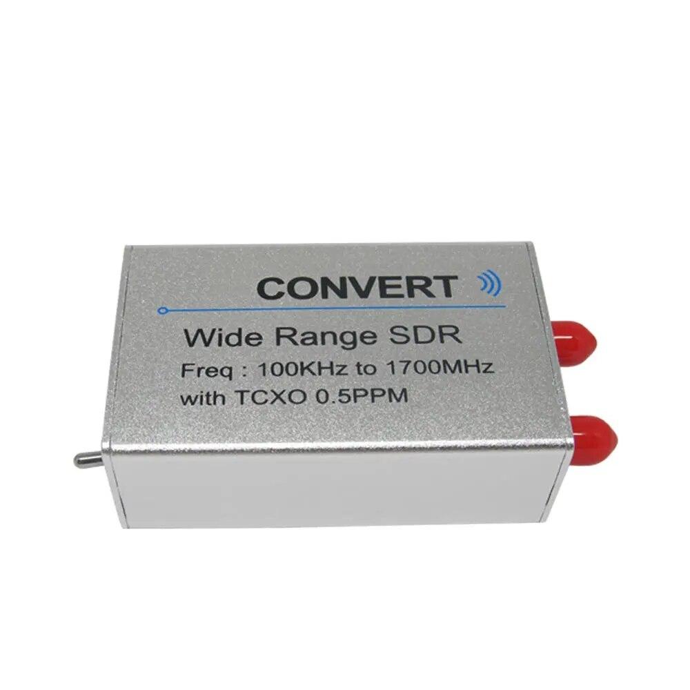 USB RTL SDR приемник 100 кГц-1,7 ГГц UV HF RTL-SDR тюнер с поддержкой преобразования RTL2832U TXCO 0.5ppm SMA N300U тестер