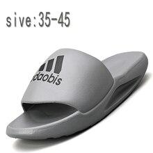 Мужчины% 27 и женщины% 27 тапочки% 2C качественные на толстой подошве нескользящие люкс бренд сандалии% 2C лето вода тапочки% 2C мужчины% 27 пляж тапочки