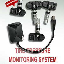 Android TPMS for Car Radio DVD Player Multimeidia Tire Pressure Monitoring System Spare Tyre Internal Sensor USB