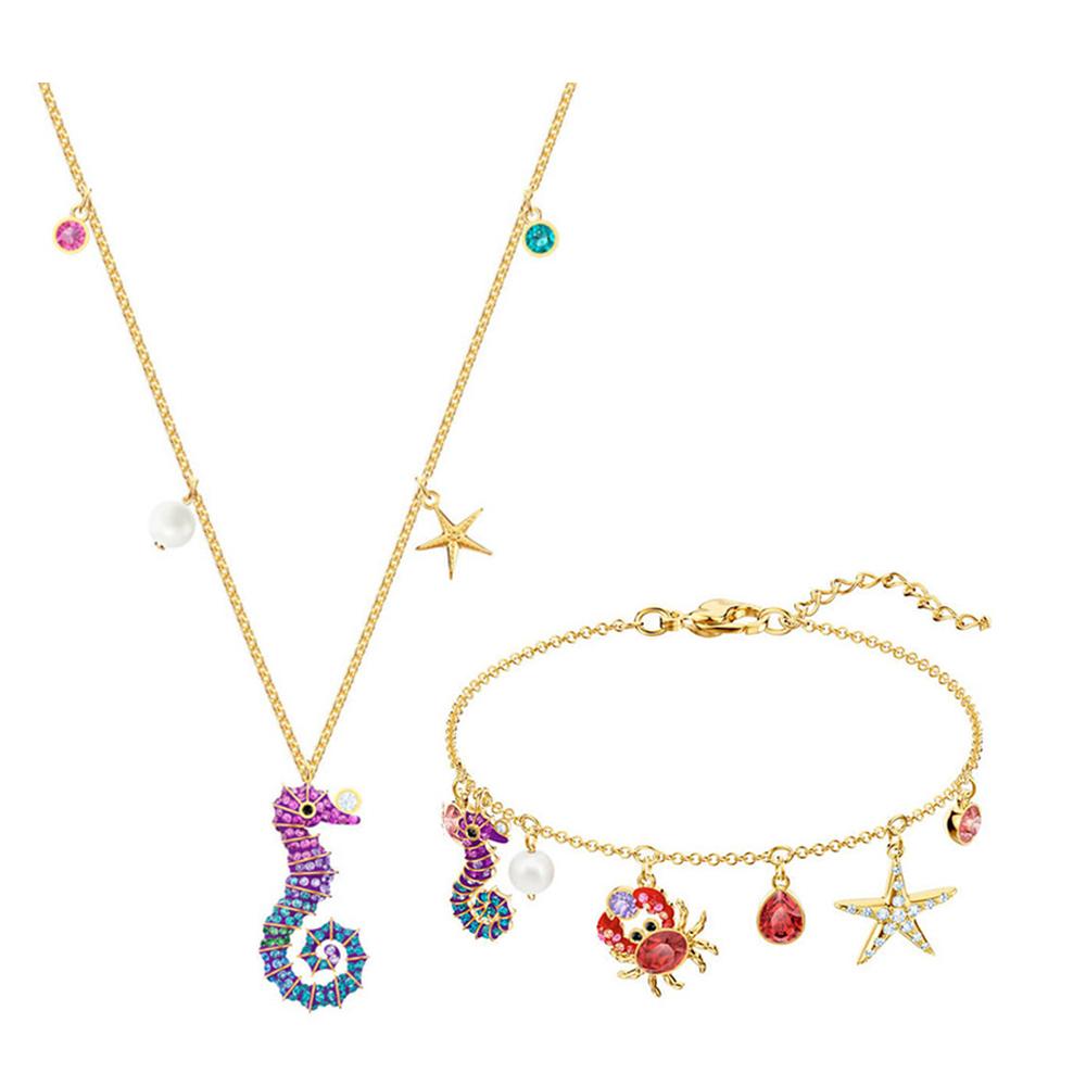 Halskette Armband Set Unterwasserwelt