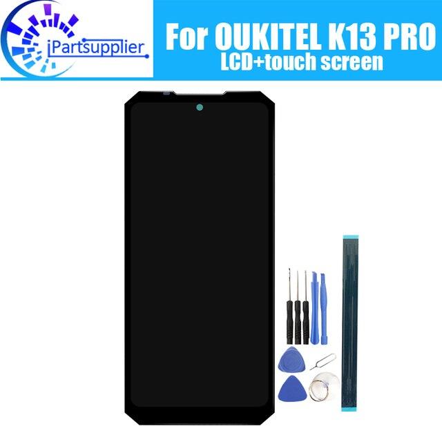 6.41 Inch Oukitel K13 Pro Màn Hình Hiển Thị LCD + Màn Hình Cảm Ứng 100% Nguyên Bản Thử Nghiệm Bộ Số Hóa Màn Hình LCD Kính Cường Lực Thay Thế Cho Oukitel k13 Pro
