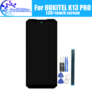 Image 1 - OUKITEL K13 PRO LCD Display+Touch Screen 100%Original Tested LCD Digitizer Glass Panel Replacement For K13 PRO+Replacement parts