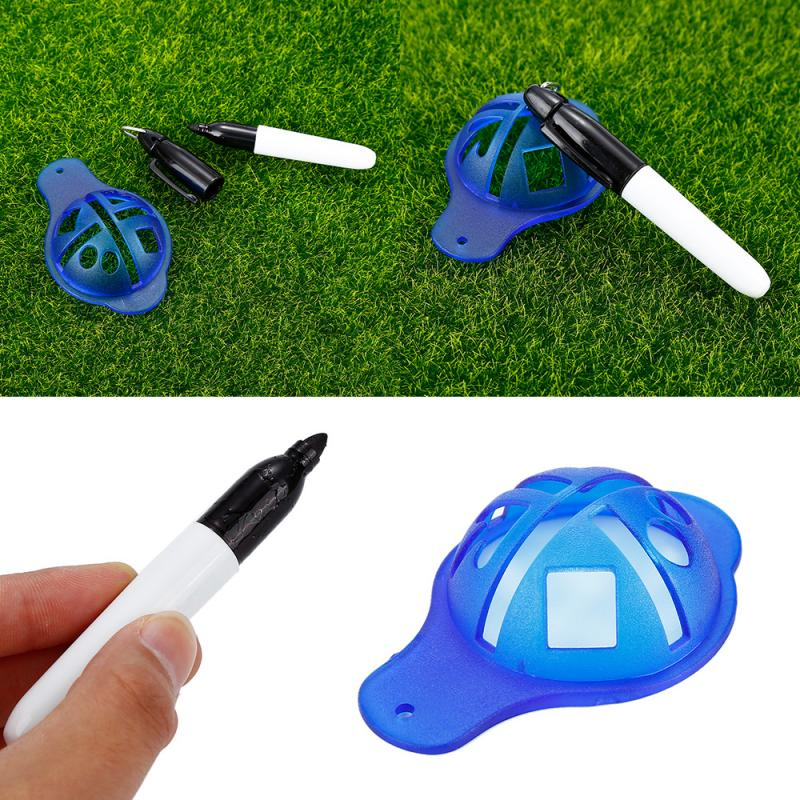 ABS Material Golf Ball Liner Marker Template Drawing Alignment Tool Pen Training Golf Accessories Practice Alignment Hot Selling