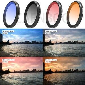 Image 5 - Lens filtre Sony RX100M1/M2/M3/M4/M5 GND8 ND2/4/8/ 16/32 renk UV Sony RX 100 I/II/III/IV/V nötr yoğunluk Filtor seti