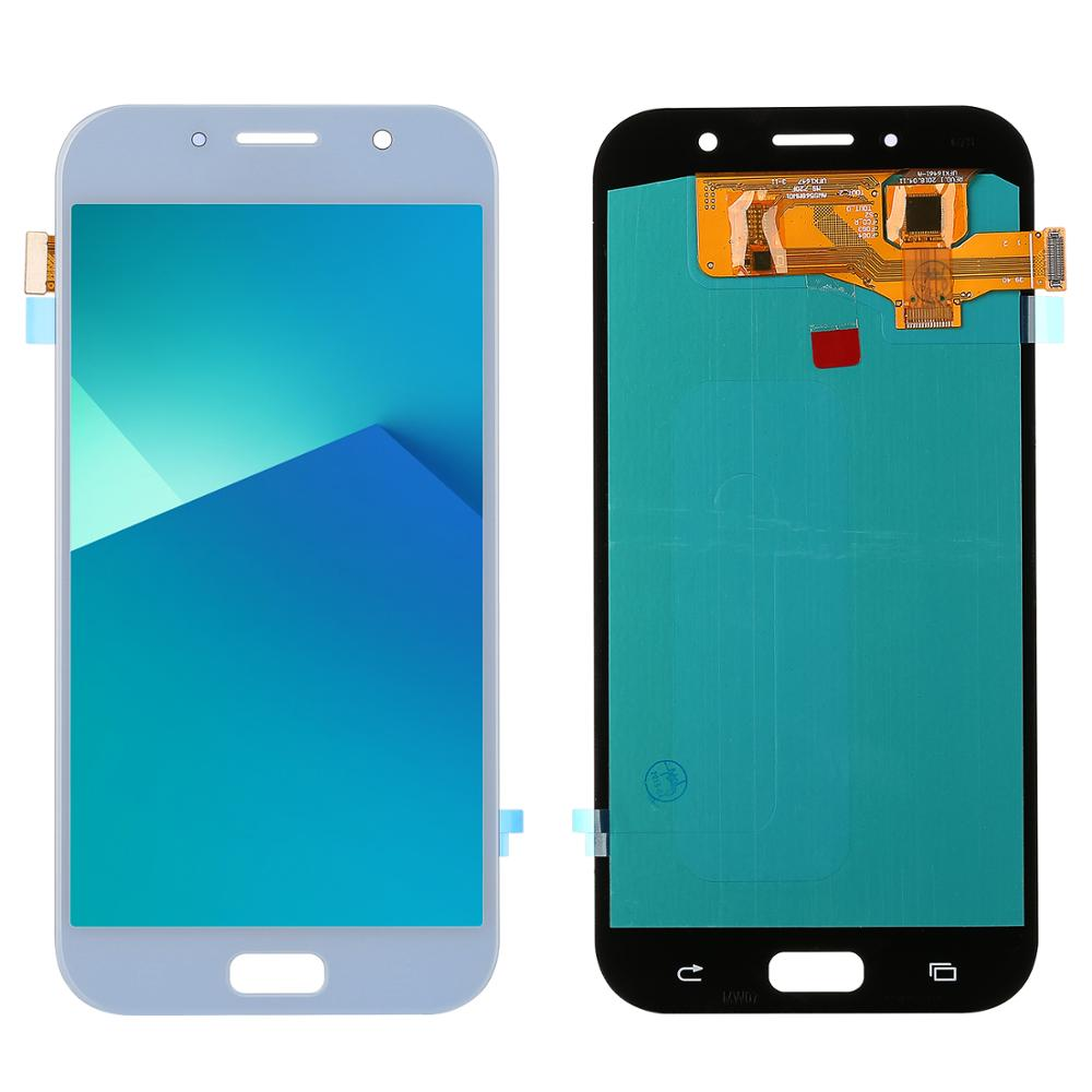 For <font><b>Samsung</b></font> Galaxy A7 2017 display <font><b>A720</b></font> A720F A720M LCDs Display and Touch Screen Digitizer Assembly Super Amoled Parts image