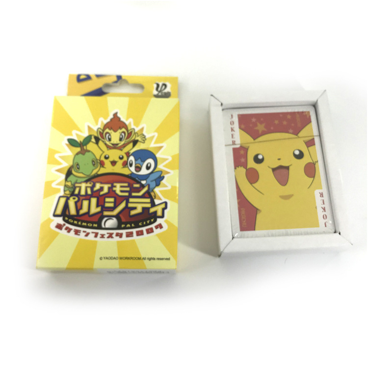 Cartoon Magic Baby POKEMON  Playing Card  Dragon Balls Playing Card  Conan Initial Sound Board Game Card Pokemon Play Cards