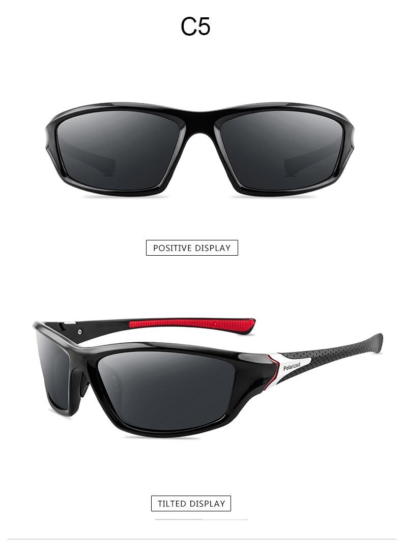 2020 New Luxury Polarized Sunglasses Men's Driving Shades Male Sun Glasses Vintage Driving Travel Fishing Classic Sun Glasses 13