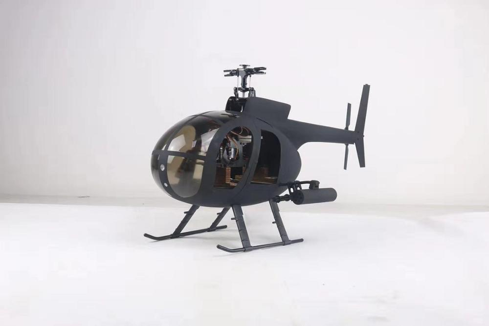 450 Scale Fuselage For AH-6I Armed Helicopter And 450 Size Huges MD500  Helicopters