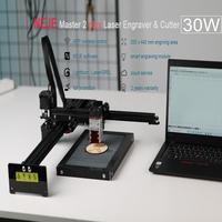 NEJE Master 2 Plus 30W CNC Laser Engraver Laser Cutting Machine Large Area 255 x 440 mm Lightburn,Bluetooth ,App Control