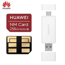 Оригинальная карта памяти Huawei NM 90 МБ/с. 64 Гб/128 ГБ/256 ГБ, подходит для Mate20 Pro Mate20 X P30 Huawei USB3.1 устройство для чтения карт памяти Nano 1 поколения