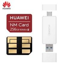 【Promotion】Huawei NM kartı 90mb/sn 64GB/128GB/256GB için geçerli Mate20 Pro Mate20 X P30 huawei USB3.1 Gen 1 Nano hafıza kartı okuyucu
